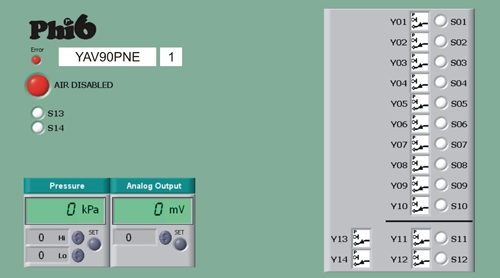 YAV90PNE Front Panel