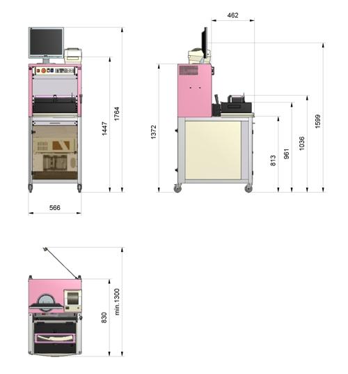 6tl-22 testing platform dimensions