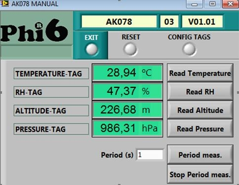 AK076 CAN nus Temperature
