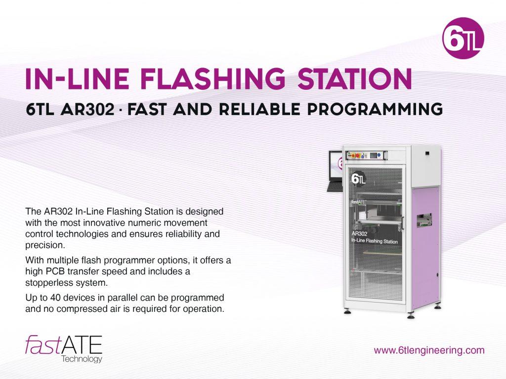 inline flashing station