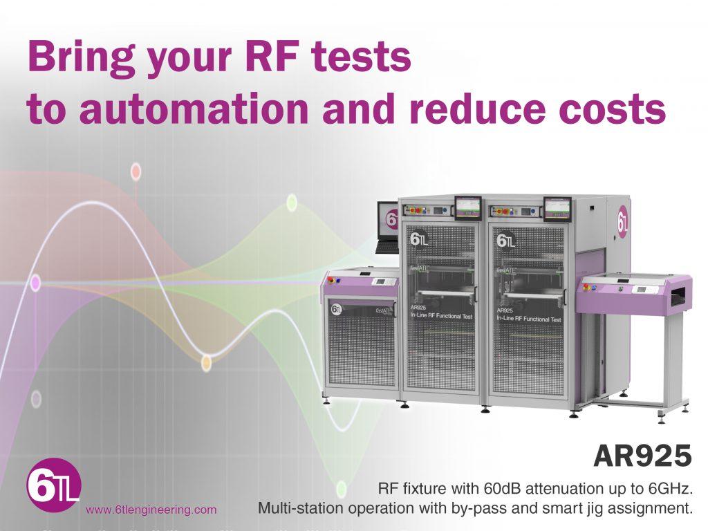 RF inline testing