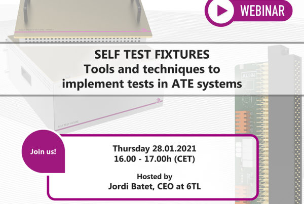 Self Test Fixtures for ATE systems